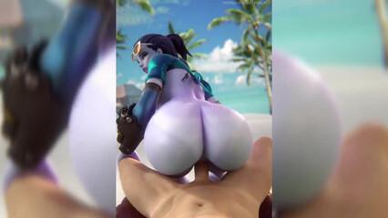 Красивый порно хентай с кремпаем
